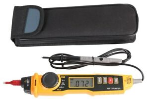 Pen Type Digital Multimeter With Ncv Detection Ac Dc Voltage Current