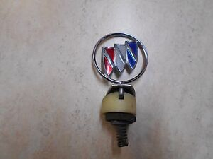 Vintage Buick Hood Car Ornament Metal Emblem