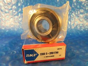 Skf 2303e 2rs1tn9 Double Row Self aligning Bearing Double Sealed contact Abec1
