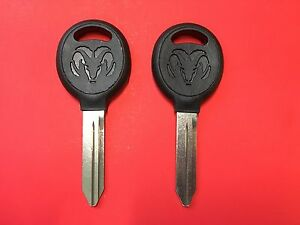 1994 2007 Dodge Ram 1500 2500 3500 Y159 Key Blank Ram Logo No Chip New