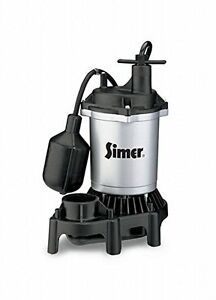 Pentair Water flotec simer 1 2 Hp Submersible Thermoplastic Sump Pump