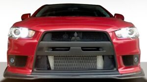 Lancer 10 Jdp Front Lip 1 Pc For Mitsubishi Evolution 08 15 Duraflex