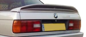 E30 M tech Spoiler Wing Trunk Lid Spoiler 1 Pc For Bmw 3 series 84 91