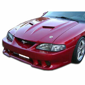 Mach 2 Hood Body Kit 1 Pc For Ford Mustang 94 98 Duraflex