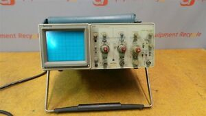 Tektronix 2213 60mhz Oscilloscope 2 Channel Analog Portable