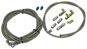 Hydro Boost Hose Kit Stainless Steel With Fittings