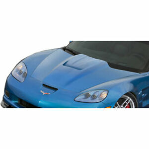 C6 Zr Edition Hood 1 Piece Fits Chevrolet Corvette 05 13 Duraflex