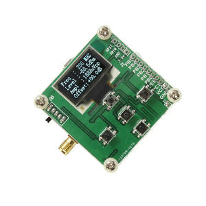 1 500mhz Oled Rf Power Meter 70 15dbm 1nw 2w Power Set Rf Attenuation Value New