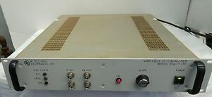 Miteq Veq 1 140 Variable If Delay Amplitude Slope Equalizer 140mhz