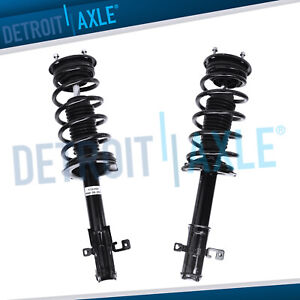 2 Front Struts Coil Spring For 2007 2008 2009 2010 Ford Edge Lincoln Mkx Fwd
