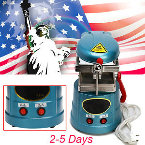 Usa Ship Vacuum Forming Molding Machine Heat Thermoforming Dental Lab Equipment