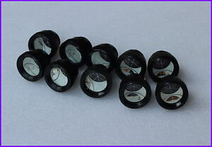 10pcs Silvered Mini Peanut Prism For Topcon Pentax Sokkia Nikon Total Station