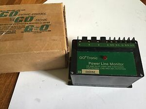 New Go Tronic 553100 gotronic 553100 Power Line Monitor 240vac boxcx