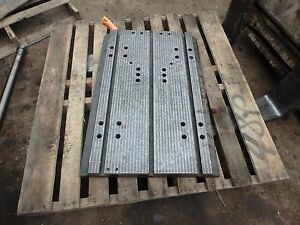 33 75 X 23 75 X 3 Steel Welding 3 T slotted Table Cast Iron Layout Plate_jig