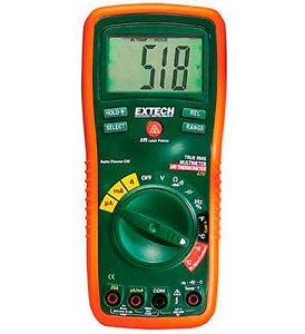 Extech Ex470 12 Function True Rms Pro Multimeter Infrared Thermometer