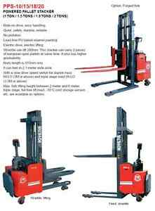 1 8 Tons Dc Electric Standing Powered Hydraulic Pallet Truck