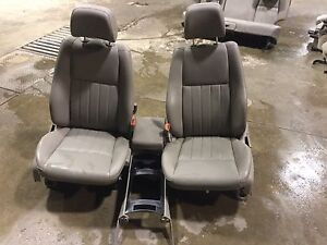 Jeep Grand Cherokee Leather Seats 2005 2006 2007 2008 2009 2010 Stock 150756