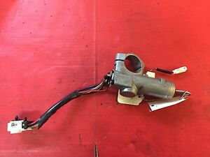 2000 2004 Nissan Xterra Ignition Lock Cylinder Assembly 2 Keys Used Oem