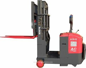 1 2 Tons Advanced Counterbalanced Walkie Electric Stacker