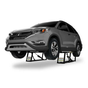 Quickjack Portable Car Lift Ranger Bendpak 7000 Lb Capacity 110 Volt Bl 7000slx
