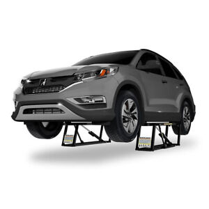Ranger Quickjack Portable Car Lift 7000 Lb Capacity 110 Volt Ac Bl 7000slx