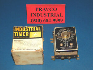 Industrial Timer Corp Csf 5m Timer Csf5m 115 230volts 1 4 25 hp 5 Minutes