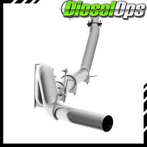 Mbrp 5 Single Aluminized Turbo Back Exhaust No Tip For Dodge Cummins 5 9l 94 02