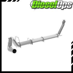 Mbrp 5 Single Al Turbo Back Exhaust No Muffler For Dodge Cummins 5 9l 94 02