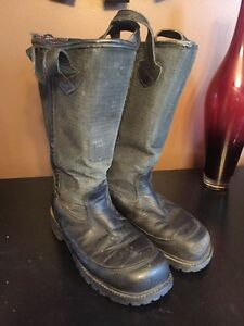 Pro Warrington Leather Hybrid Firefighter Turnout Boots Size 9 E Used