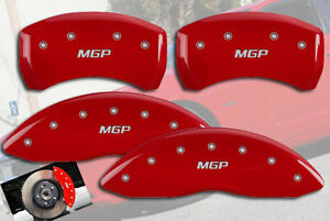 2005 2008 Dodge Magnum Se Sxt Front Rear Red Mgp Brake Disc Caliper Covers