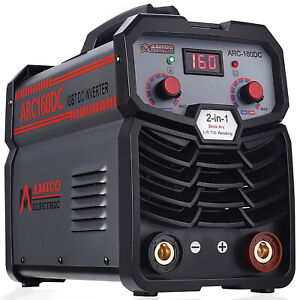 Mma 160 160 Amp Stick Arc Dc Inverter Welder 115 230v Welding Machine New