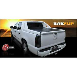 Bak Bakflip F1 Hard Folding Tonneau Cover For Chevrolet Avalanche 5 3 Bed 02 13