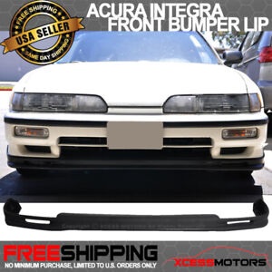 Fits 90 91 Acura Integra Mugen Style Pu Urethane Front Bumper Lip Spoiler