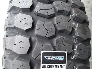 4 New 35x12 50r17 Ironman All Country Mud Tires 35125017 35 1250 17 12 50 12 Ply