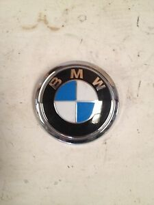 Genuine Bmw 760i 760li 750i 750li Alpina Emblem Bmw roundel For Trunk Lid Oem