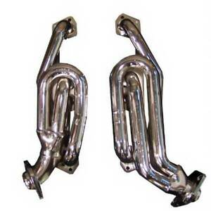 Gibson 1 5 Performance Header Chrome For Dakota ram durango 5 2l 5 9l 96 03