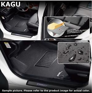 Bmw X5 F15 2014 2017 Front And Rear Kagu U Ace 3d Floor Liners 3 Piece Set