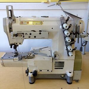 Kansai Special Rx 9000 Cover Stitch Sewing Machine cylinder table