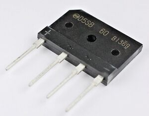 100 Pack D5sb60 Bridge Rectifier 600v 6a