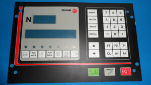 For Membrane Keypad Fagor Cnc101 102s For Cnc System Key Button