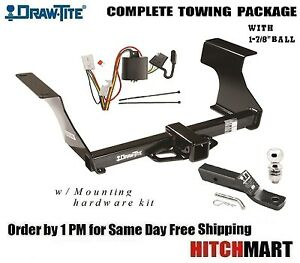 For 2009 2013 Subaru Forester Class 3 Trailer Hitch Tow Package W 1 7 8 Ball