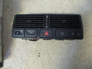 01 02 03 Vw Golf R32 Front Center Air Vent Emergency Switch Seat Warmers