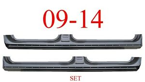 09 14 Crew Cab Extended Rocker Set Panel Oem Type Ford F150 Truck Both L