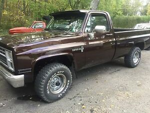82 Chevy 350 4bbl Turbo 350 Trans