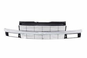 Fit For Chevrolet Astro Front Upper Grille Gm1200371 15760162