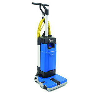 New Clarke Ma10 12e 12 Upright Floor Scrubber With Wand Kit Carpet Care Kit