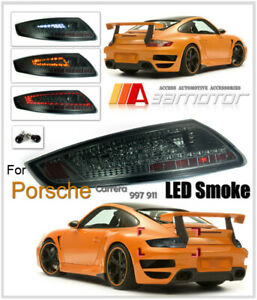 Taillights Led Rear Tail Light Lamp Smoke For Porsche Carrera 911 997 2005 2008