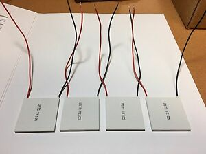 Thermoelectric Modules Thermoelectic Coolers Cooling Peltier Plate Te Lot Of 4