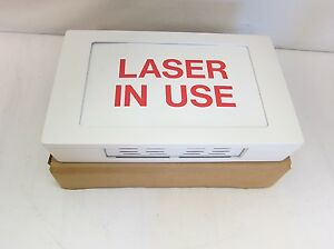 New Acuity Hsg301 liu r Laser In Use Healthcare Lighting Led Sign Red