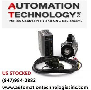 Delta Ac Brushless Servo Motor And Driver 1000w Ship From Chicago